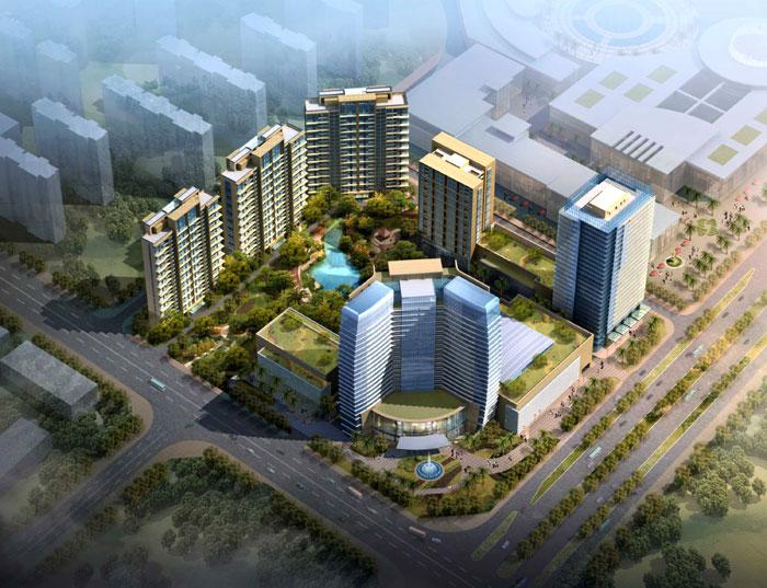河源·汇景御府中央办公楼及公寓楼